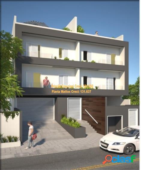 Apartamento sem condomínio no bairro campestre - santo andré