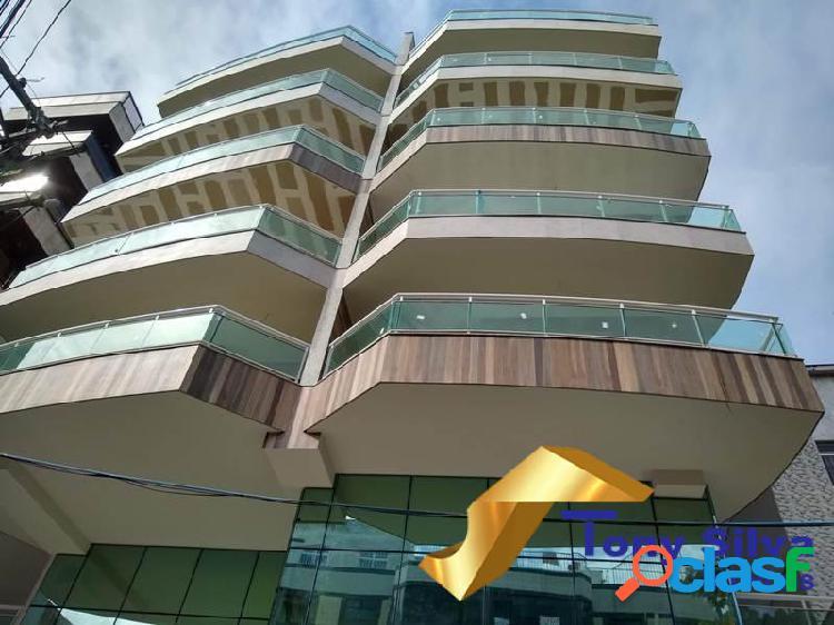 Aluguel fixo ou venda!cobertura duplex 2 suítes no centro de cabo frio!