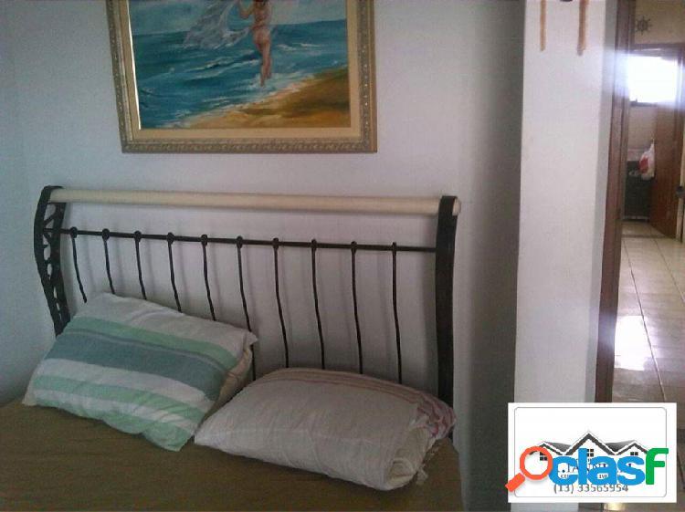 Apartamento 2 Dormitórios / Frente Mar / V. Mirim 1