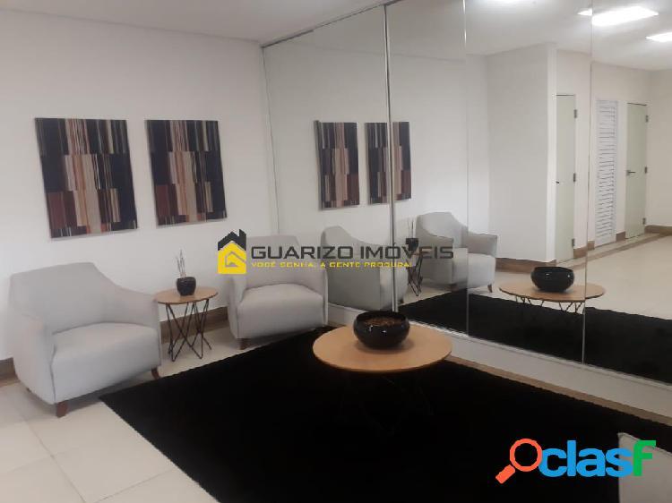 Apartamento`a venda/locação 2 quartos (1) suite, 2 vagas - vila duzzi - sbc