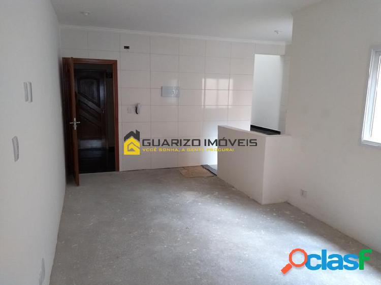 Cobertura (nova) à venda 3 quartos, 2 vagas - vila curuçá - santo andre