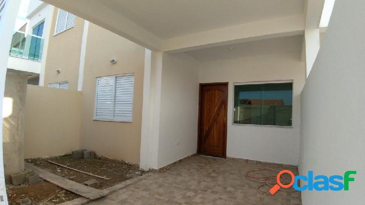Casa Geminada em Piso Térreo (Sobreposta) - Parque D'Aville (Peruíbe-SP) 1