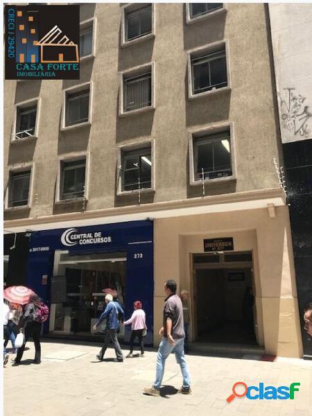 Sala comercial locação/venda na república/sp r$ 1.400,00/ 320.000,00