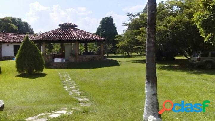 Venta Terreno Y Casa Campestre En Safari Carabobo 6000 M2.