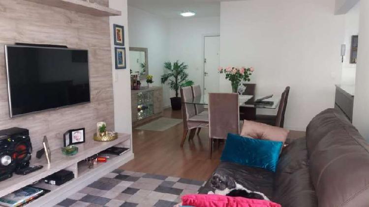 Apartamento 2 quartos, 88,30 m² privativos, semi mobiliado