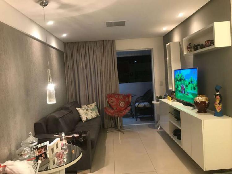 Apartamento à venda, 3 quartos, 1 vaga, ponta verde -