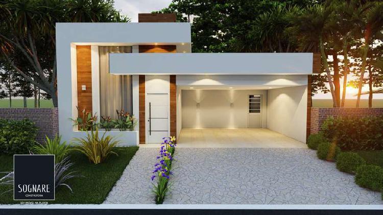 Casa 3 dormitórios com 1 suíte - condomínio residencial