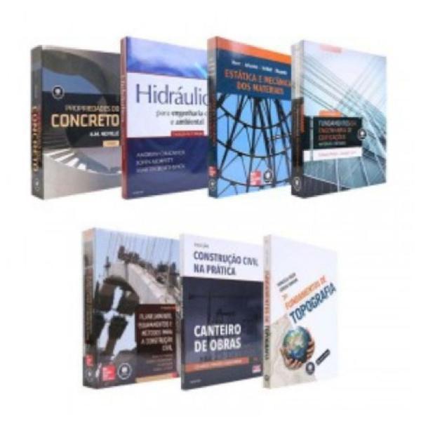 Coleção livros engenharia civil