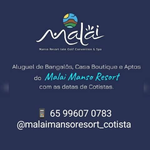 Diárias malai manso resort cotista