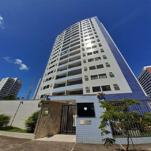 Exc. apt com 79 m2, com varanda, 2 quartos (1 suíte +