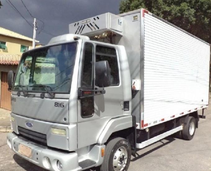 Ford cargo 816 2013 bau refrigerado