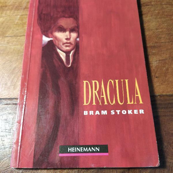 Livro drácula - bram stoker - ed heinemann
