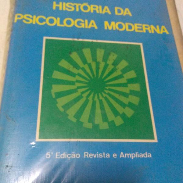 Livro história da psicologia moderna!