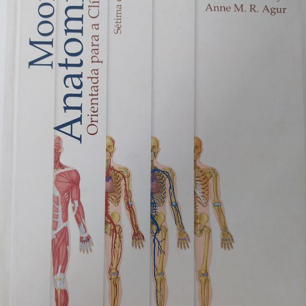 Livro moore anatomia orientada para a clinica 7ª edicao