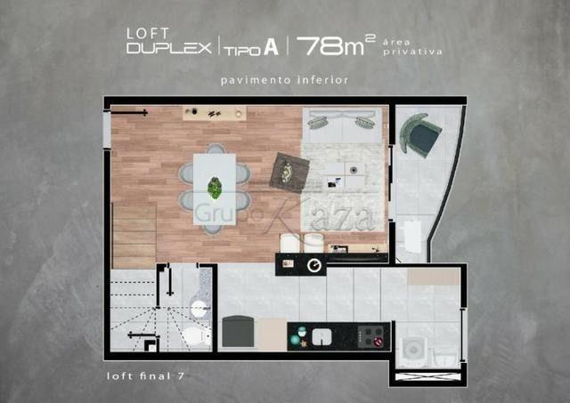 Lofts duplex jd aquarius- em construção- 78 e94m²