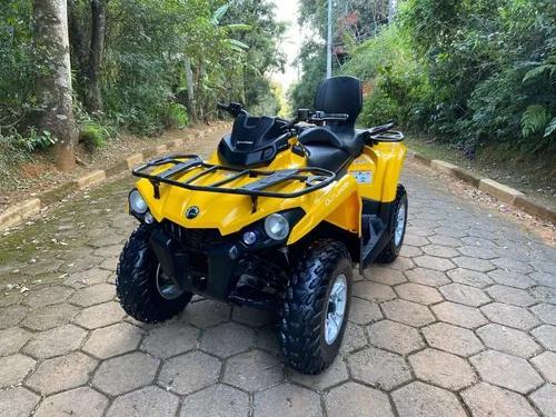 Quadriciclo can am 570 4x4 max (dps direção elétrica)