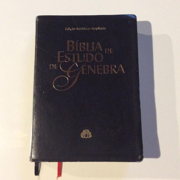 Bíblia estudo genebra