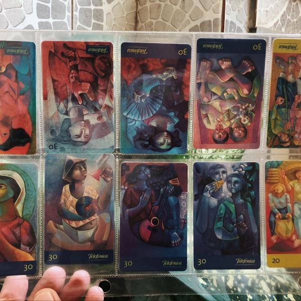 Cartões telefônicos sarro