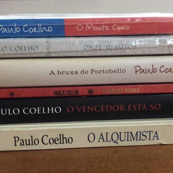 Coleção de livros paulo coelho