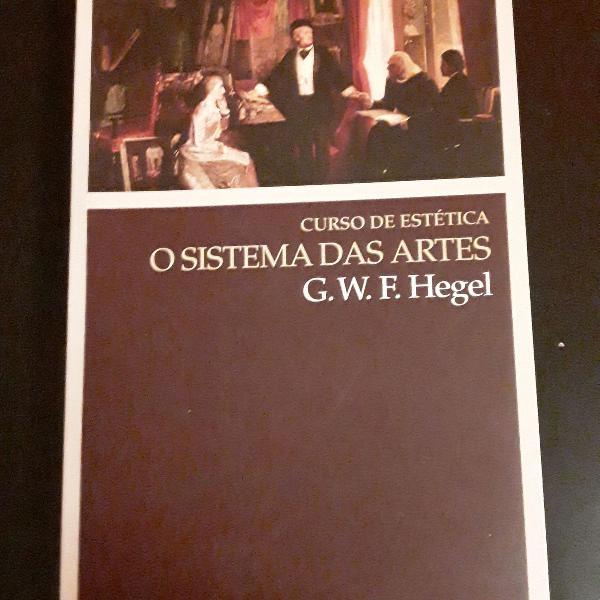 "Curso de estética: o sistema das artes"" de g.w.f. hegel"
