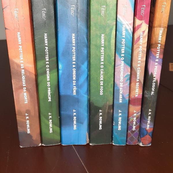 Harry potter coleção completa