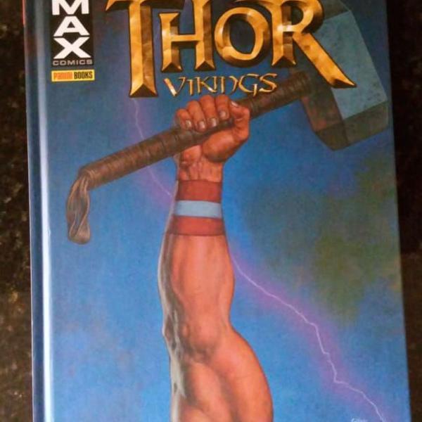 História em quadrinhos da marvel - thor: vikings