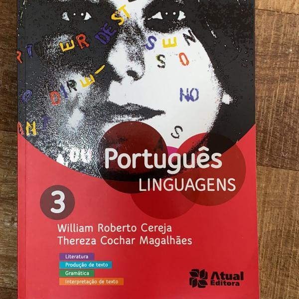 Livro de português linguagens ensino médio 3 ano. editora
