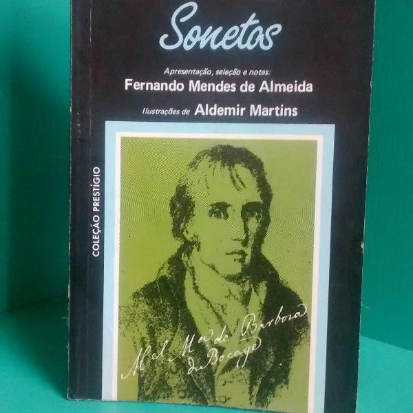 Livro de sonetos bocage - manuel maria barbosa du bocage