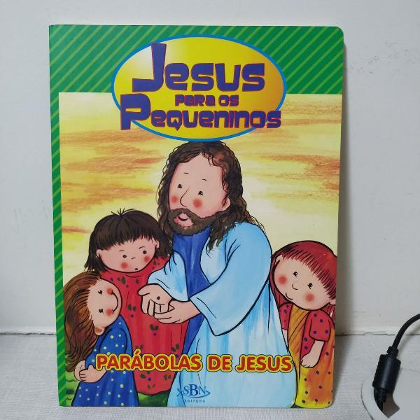 """Livro """"jesus para os pequeninos"""""""