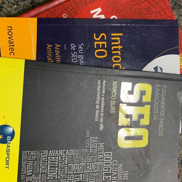 Livros marketing digital e seo