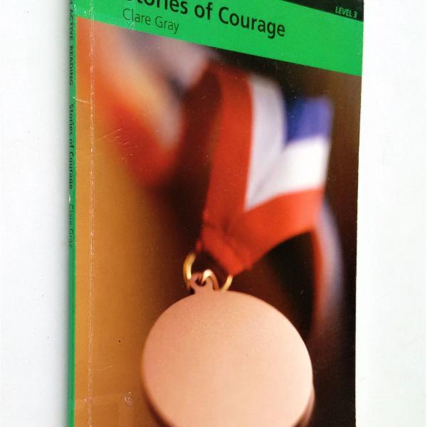 Stories of courage - level 3 pre intermediate - (não vem o