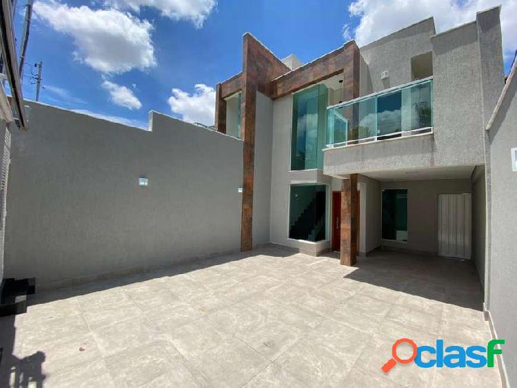 Casa duplex 3 quartos - planalto