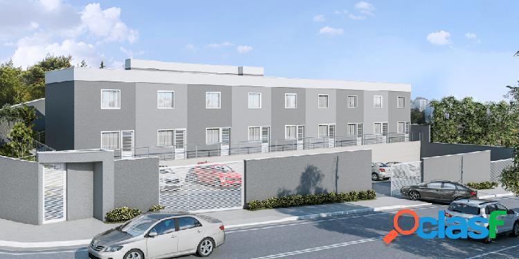 Casa geminada 2 quartos localizada em betim