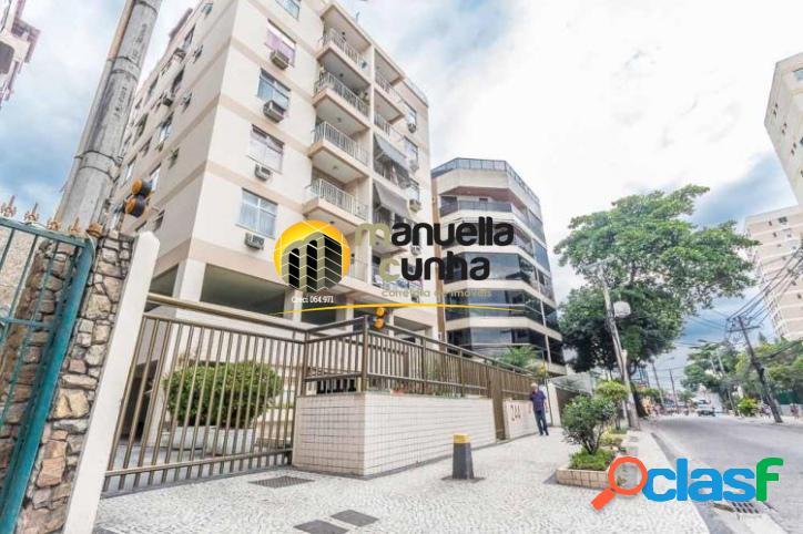 Belíssima cobertura duplex 3qts, 2suítes - freguesia/rj