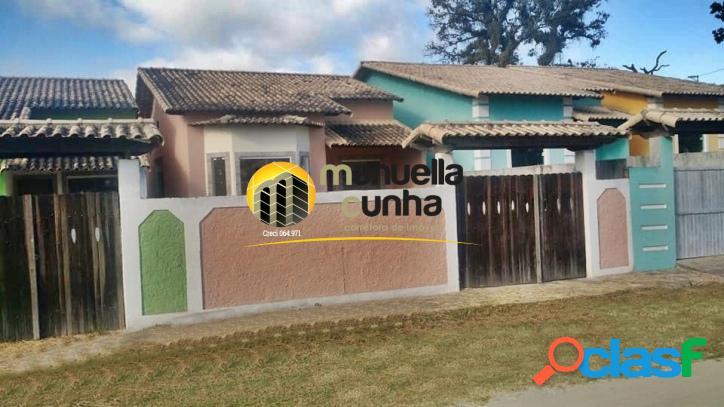 Linda casa linear 2qts, suíte - excelente localização!