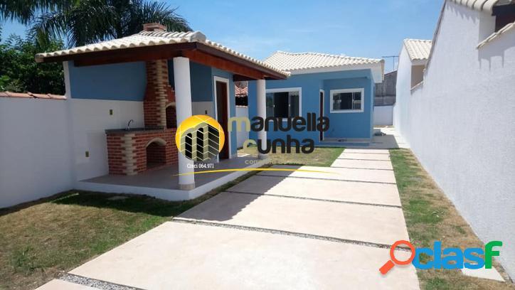 Linda casa 2Qts, Suíte - Churrasqueira - Ótima Localiação! 1