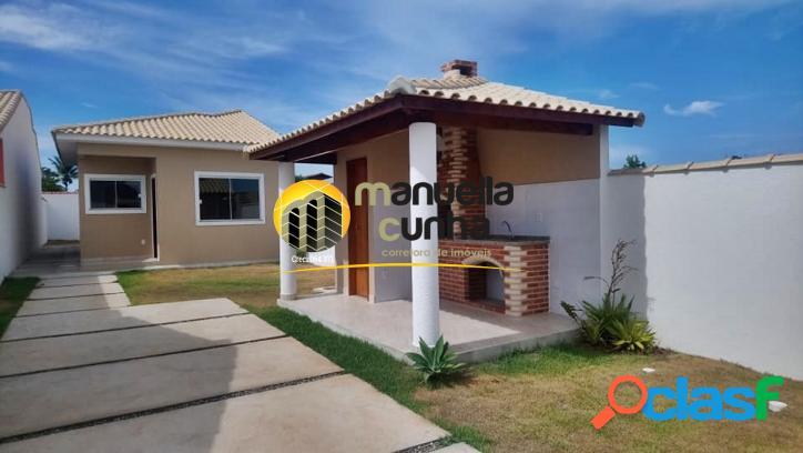 Linda casa linear 2qts - localização / praia