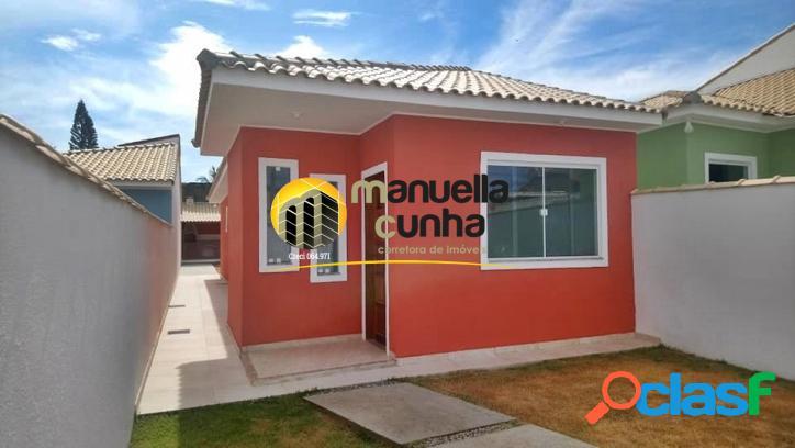 Linda casa linear 2Qts - Pertinho da Praia / Localização!