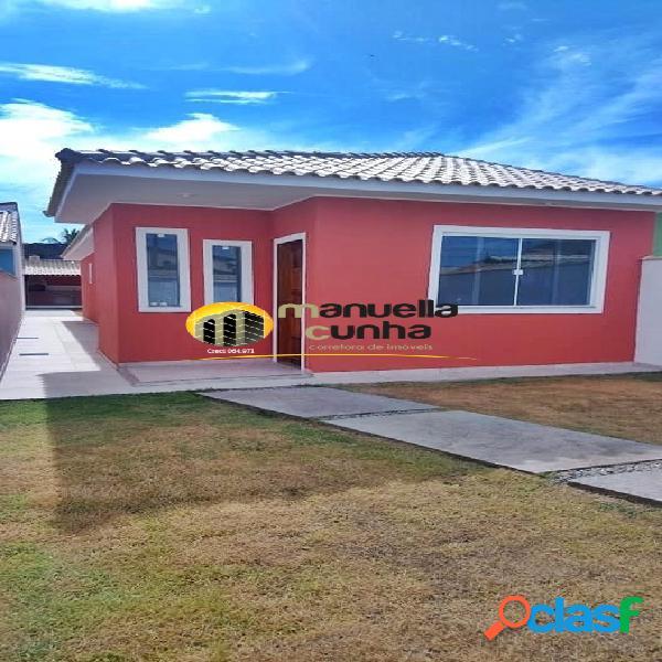 Linda casa linear 2Qts - Pertinho da Praia / Localização! 1