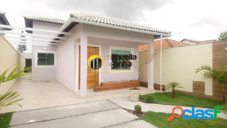Belíssima casa linear c/4qts, 1suíte - excelente localização/praia