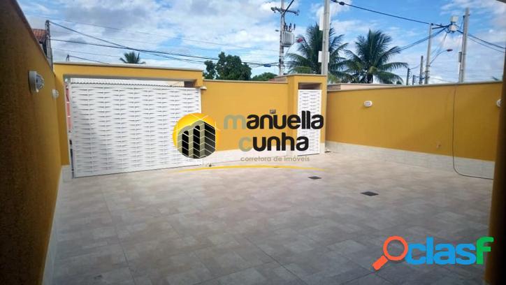 Linda casa Linear 4Qts - Área Gourmet - Área Nobre 1