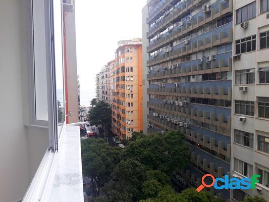 Copacabana / rj - apto 3 qtos, frente / luxo decor
