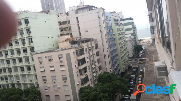 Copacabana / rj - apartamento 3 qtos. frente, vista mar
