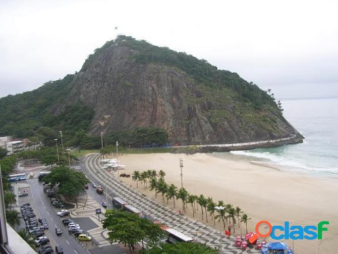 Rio de janeiro/rj - leme - cobertura 3 qtos sendo 1 suíte 1 vaga