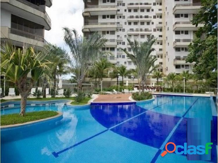 Rio de janeiro/rj - barra da tijuca - apartamento 5 suítes 7 banheiros
