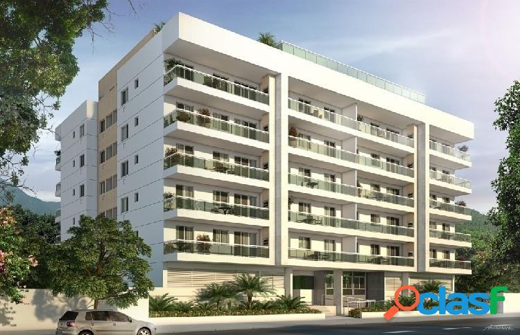 Rio de janeiro/rj - jacarepaguá - apartamento 3 qtos sendo 1 suíte 1 vaga