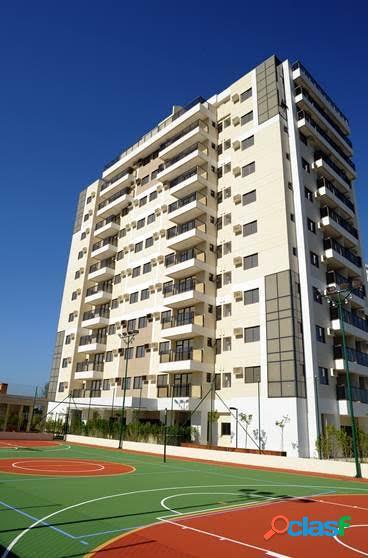 Rio de janeiro/rj - recreio dos bandeirantes - apartamento 2 qtos 1 vaga