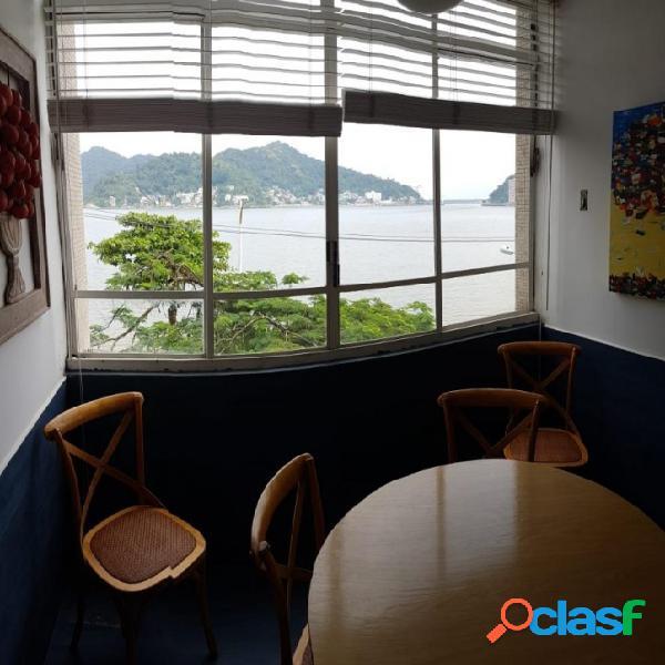 Apartamento com 2 dormitórios à venda, 100 m² por R$ 550.000 - Boa Vista - São Vicente/SP