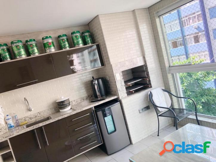 Apartamento com 3 dormitórios à venda por R$ 970.000 - Itararé - São Vicente/SP