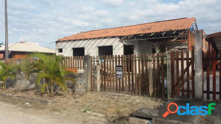 Casa em fase de construção com edicula - loteamento príncipe